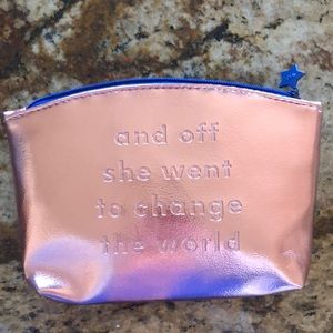 Handbags - Cosmetic pouch Rose Gold & Pink NEW